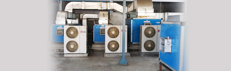 Air Handling Units, AHU, Clean Room Equipments, HVAC Systems